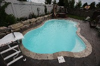 Rio Fiberglass Pool in Ardara, PA